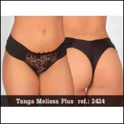 2424- tanga plus size Melissa - cores a tamanho a combinar -