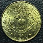 Italia 200 liras 1994 FC