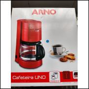 Cafeteira Uno Arno Cor Vermelho 220 v
