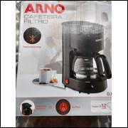 Cafeteira Filtro Arno Cor Preta 127 v