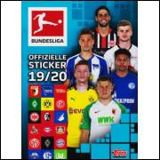 Figurinhas do Album Fussball Bundesliga 2019/2020 Alemanha 2020 Topps