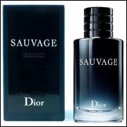 Perfume Dior Sauvage Masculino Eau de Toilette 200 Ml