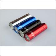 Mini Lanterna de Alumínio 9 Leds