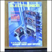 Coleção de três revistas importadas de eletrônica.- 076 -