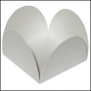 Forminhas em papel Color Plus Branca 50 unidades