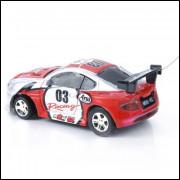 Super Mini Carrinho Controle Remoto Palm-top Model Car 49mhz - Racing 03
