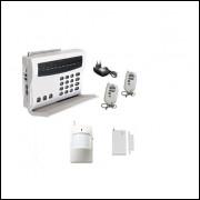 Sistema De Alarme Wireless 2 Sensores Discagem Automática
