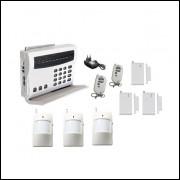 Sistema De Alarme Wireless 6 Sensores Discagem Automática