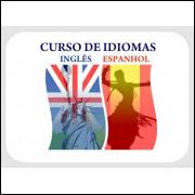 INGLES E ESPANHOL em 02 DVDs COMPLETOS -Roseta Stonne