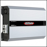 SD8000.1d Evolution 8000w RMS Amplificador SounDigital