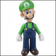 Boneco Luigi Super Mario Figura De Ação - Luigi