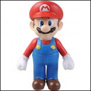 Boneco Luigi Super Mario Figura De Ação - Mario