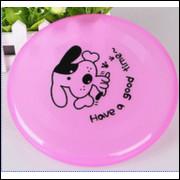 Frisbee Dog Disco Voador Resiste A Dente Grande - Rosa - Frete Grátis