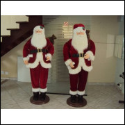 Papai Noel Em Tamanho Real