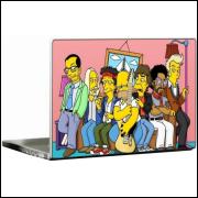 Adesivo para Notebook Os Simpsons Modelo 5