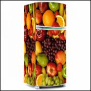 Adesivo para Envelopamento de Geladeira - Frutas - Modelo 02 - A partir de R$ 72,90