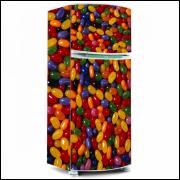 Adesivo para Envelopamento de Geladeira - Balinhas - Modelo 01 - A partir de R$ 72,90