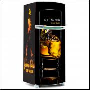Adesivo para Envelopamento de Geladeira - Bebidas - Modelo 01 - A partir de R$ 72,90