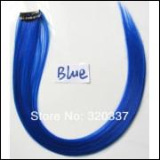 Mecha Coloridas Tic Tac Aplique 50cm - Azul - Frete Grátis