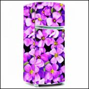 Adesivo para Envelopamento de Geladeira - Flores - A partir de R$ 72,90