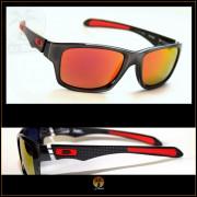 Óculos de Sol Oakley Jupiter Carbon Grafite Lentes Vermelhas Polarizadas 6e60f203f6