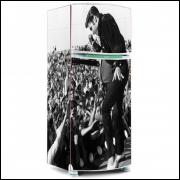 Adesivo para Envelopamento de Geladeira - Music - Modelo 04 - A partir de R$ 72,90