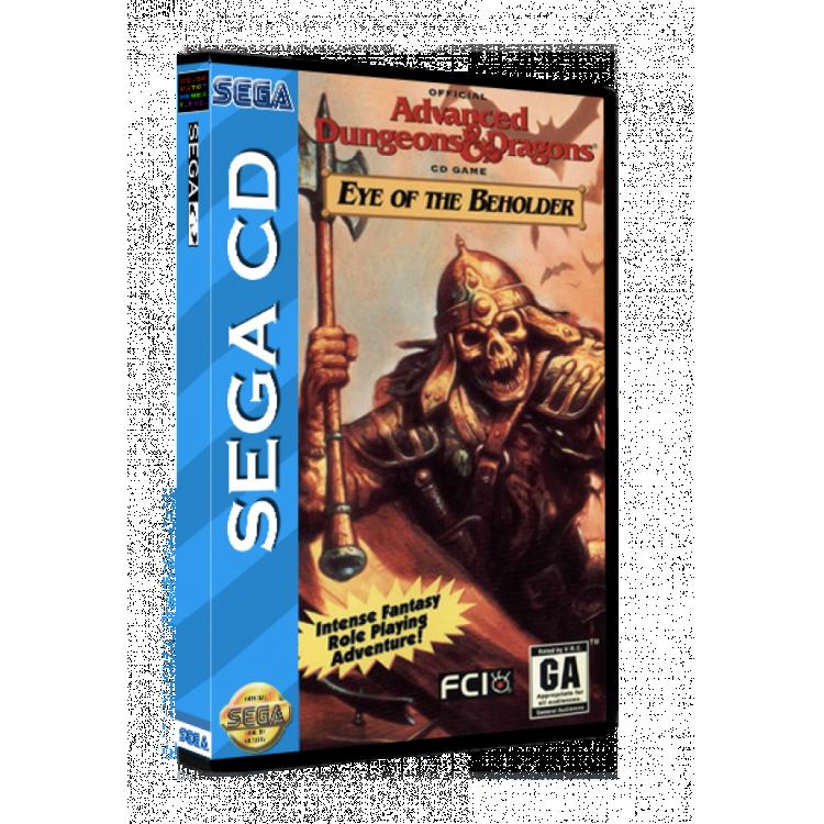 Sega CD Rom Eye of the Beholder