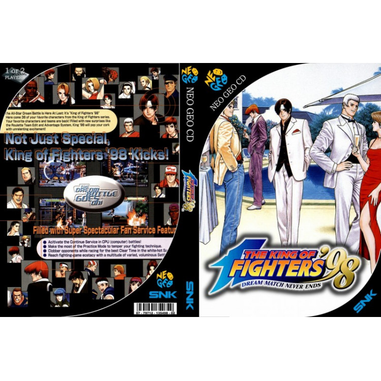 King Of Fighters 98 Neo Geo Cd Rom