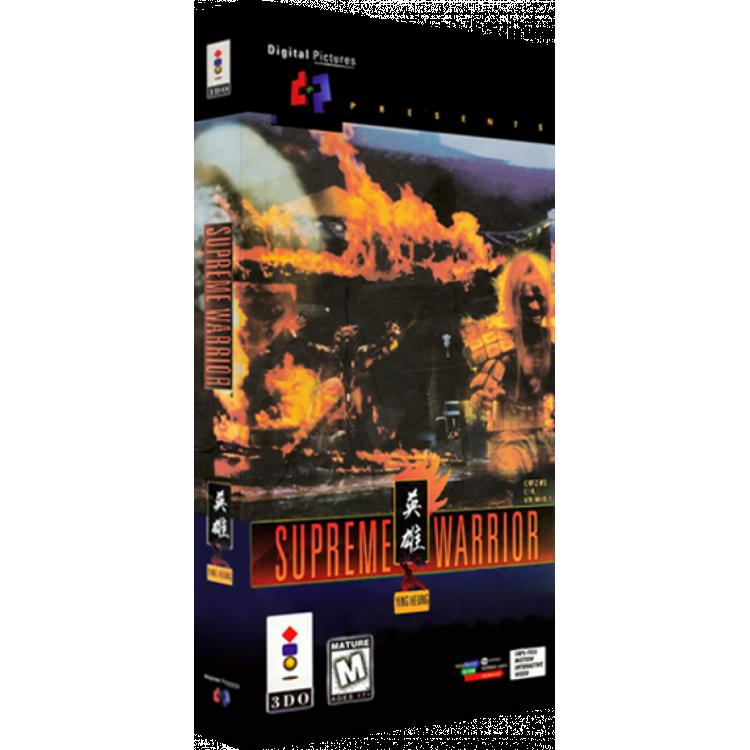 Supreme Warrior (2 Cds) Panasonic 3do Cd Rom
