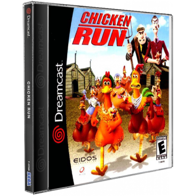 Chicken Run DreamCast CD Rom