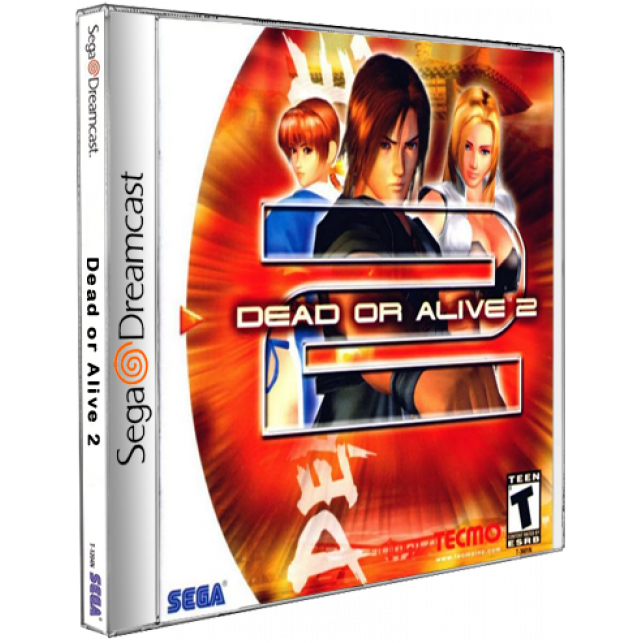 Dead or Alive 2 DreamCast CD Rom