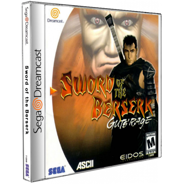 Sword of the Berserk - Guts- Rage Sega DreamCast CD Rom