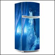 Adesivo para Envelopamento de Geladeira - Água - Modelo 02 - A partir de R$ 72,90
