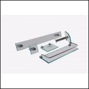 kit de banheiro retangular Vidro 8mm