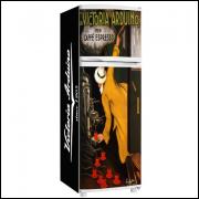 Adesivo para Envelopamento de Geladeira - Vintage - Modelo 01 - A partir de R$ 72,90
