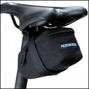 Bolsa Para Celim De Bicicleta - Preta - Frete Grátis