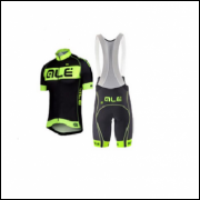 Conjunto Ciclista - Camisa + Bretelle - Pronta Entrega Xxxl