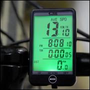 Computador De Bordo1,5 com Fio A Prova D- Água P/ Bicicleta