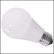 Lampada De Led Bulbo 15w  Luz Branca Ou Amarela Kit Com 10