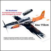 Tucano T-27 AFA 30 Anos Kit Para Montar Aeromodelo - Kemp Aeros