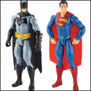 Boneco e personagem Batman Vs Superman Pack 2 Mattel