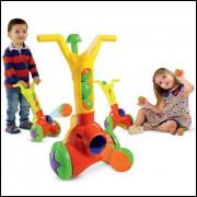 Brinquedo Lançador De Bolas Boom Ball Mk231- Dismat