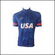 f6e388a12c Camisa Ciclismo Unisex - Sinergy Sports - Linha Mundo   Estados Unidos