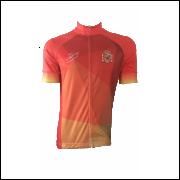 a577825431 Camisa Ciclismo Unisex - Sinergy Sports - Linha Mundo   Espanha