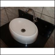 Cuba De Sobrepor - Oval  Para Banheiro