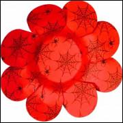 Forminhas Para Doces Flor em Papel Cartão Aranha