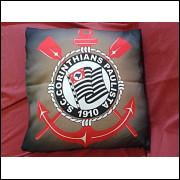 Capa Personalizada Para Almofada 40x40cm Corinthians