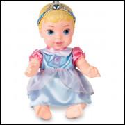 Boneca Cinderela Baby Vinil 27cm. Mimo