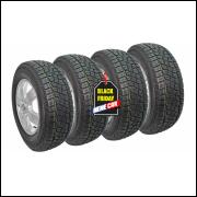 kit 4 pneus 205/60/15 atr remold adventure cross inmetro am plus
