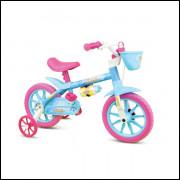 Bicicleta Feminina Aqua Aro 12 Nathor